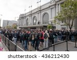 san francisco   jun 13th  2016  ... | Shutterstock . vector #436212430