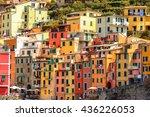 riomaggiore  italy   may 5 ...   Shutterstock . vector #436226053
