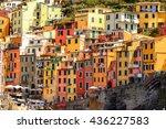 riomaggiore  italy   may 5 ...   Shutterstock . vector #436227583