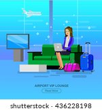 vector detailed characters... | Shutterstock .eps vector #436228198
