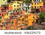 riomaggiore  italy   may 5 ...   Shutterstock . vector #436229173