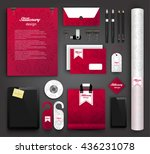 stationery design   identity... | Shutterstock .eps vector #436231078