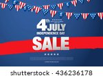 independence day of the usa...   Shutterstock .eps vector #436236178