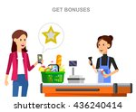 concept illustration for shop ... | Shutterstock .eps vector #436240414