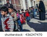 ar ramtha  jordan   december 23 ... | Shutterstock . vector #436247470