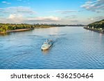 ������, ������: Boat on the Dnepr