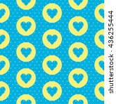 Seamless Pattern With A Heart...