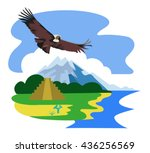 vector image of ancient and... | Shutterstock .eps vector #436256569
