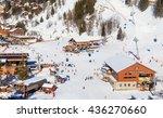 meribel  france   january 25 ... | Shutterstock . vector #436270660