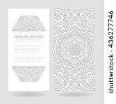 vector nature decor for your... | Shutterstock .eps vector #436277746