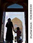 Small photo of Bukhara in Uzbekistan - 9/72015 - Kalan mosque in Bukhara