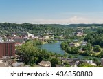 View Of The Downtown Area Of...