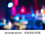 defocused entertainment concert ... | Shutterstock . vector #436361458