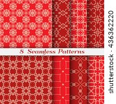 colorful geometric backgrounds. ... | Shutterstock .eps vector #436362220