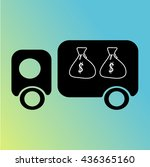 truck   Shutterstock .eps vector #436365160