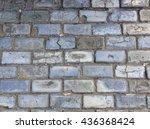 Old Stone Block On Street Of...