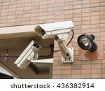 surveillance camera | Shutterstock . vector #436382914