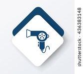 hair dryer icon | Shutterstock .eps vector #436383148