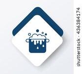 pot icon | Shutterstock .eps vector #436384174