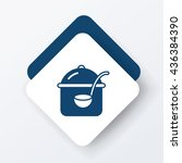 pot icon | Shutterstock .eps vector #436384390