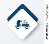 airport car icon | Shutterstock .eps vector #436407460