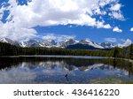 Alpine Lake Snow Capped Mountains - Fine Art prints