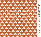 seamless floral pattern. | Shutterstock .eps vector #436419058
