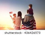 Patriotic Holiday. Happy Famil...
