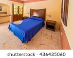 Bedroom In Tropical  Caribbean...