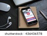 chiangmai  thailand   june 9 ...   Shutterstock . vector #436436578