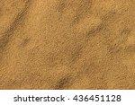 sandy beach. detailed sand... | Shutterstock . vector #436451128