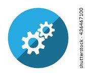 gear icon jpg | Shutterstock .eps vector #436467100