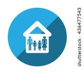 family icon jpg | Shutterstock .eps vector #436477543