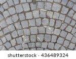 stone pavement texture | Shutterstock . vector #436489324
