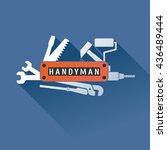 home  house repair vector logo  ...