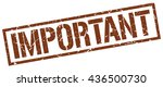 important stamp.stamp.sign...   Shutterstock .eps vector #436500730