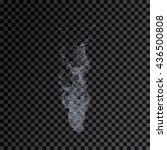 water splash transparent... | Shutterstock . vector #436500808