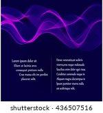 abstract background design... | Shutterstock .eps vector #436507516