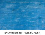 painted blue and white old...   Shutterstock . vector #436507654