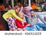 business  startup and people... | Shutterstock . vector #436511029