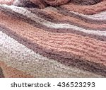 pink wool texture | Shutterstock . vector #436523293