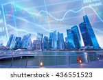stock business concept with... | Shutterstock . vector #436551523
