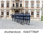 Changing Guard at Prague Castle