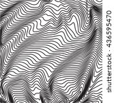 retro  vintage black and white... | Shutterstock .eps vector #436595470