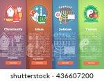 set of religion icons....