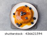 Pumpkin Pancakes With Maple...