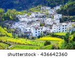 Landscape Of Wuyuan County Wit...