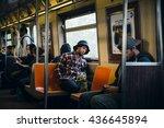 new york  usa   apr 28  2016 ... | Shutterstock . vector #436645894