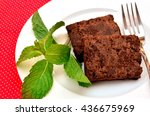 delicious and soft fresh...   Shutterstock . vector #436675969