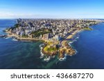 aerial view of salvador da... | Shutterstock . vector #436687270